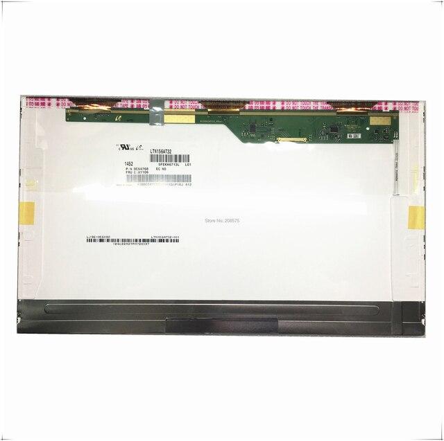 จัดส่งฟรี LTN156AT32 HB156WX1 100 N156BGE L21 LTN156AT27 B156XTN02.2 LP156WH4 B156XW02 แล็ปท็อปหน้าจอ Pancel 40 Pins