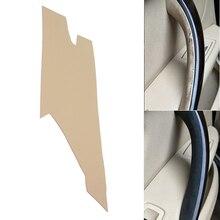 Cubierta de microfibra de cuero para manija de puerta Interior embellecedor decorativo para BMW Serie 3 F30 2013 2014 2015 2016 2017
