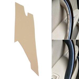 Image 1 - Poignée de porte intérieure en cuir microfibre, garniture décorative, pour BMW série 3 F30, 2013, 2014, 2015, 2016, 2017