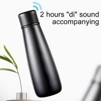 New Innovative Intelligent Bottle Outdoor Sports Office Vacuum Cup Stainless Steel Timing Thermos Cup with Temperature Display