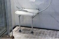Banyo duş oturağı Güvenlik Banyo Katlanır duş oturağı Duvara Monte duş sandalyesi Duvar Standı Sandalye özel tabure ayakkabı sto