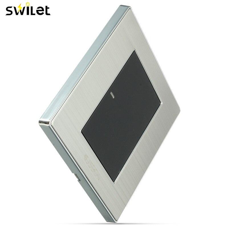 Swilet Indicator Press Push Button Switch Ac 250v 10a 2