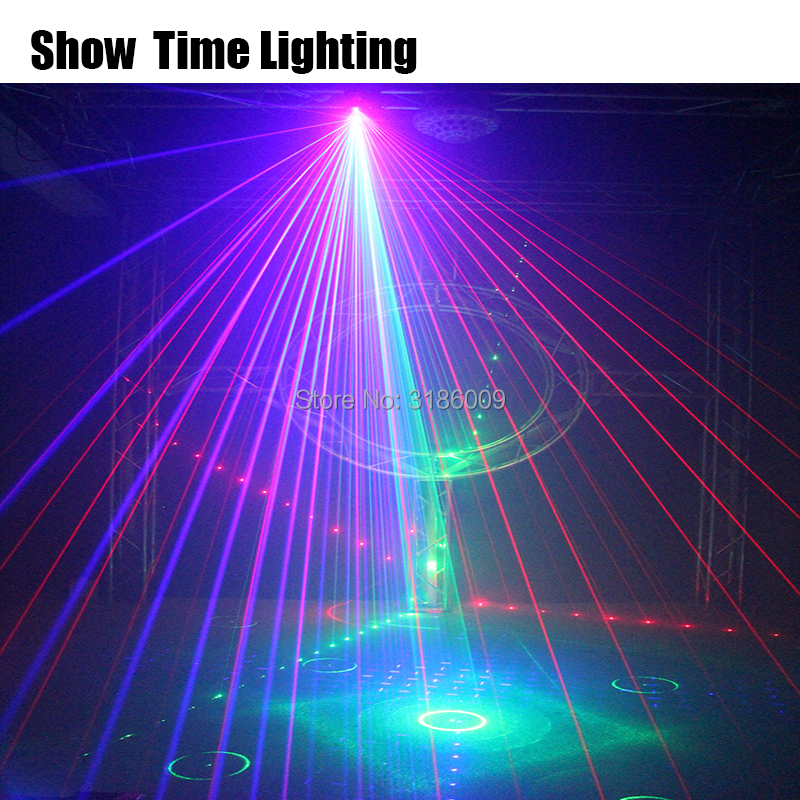 Professional Dj Lasers Show System Effect Club Laser Dmx Show Party Lampu Disco Proyector Stage Laser Lighting Show Time