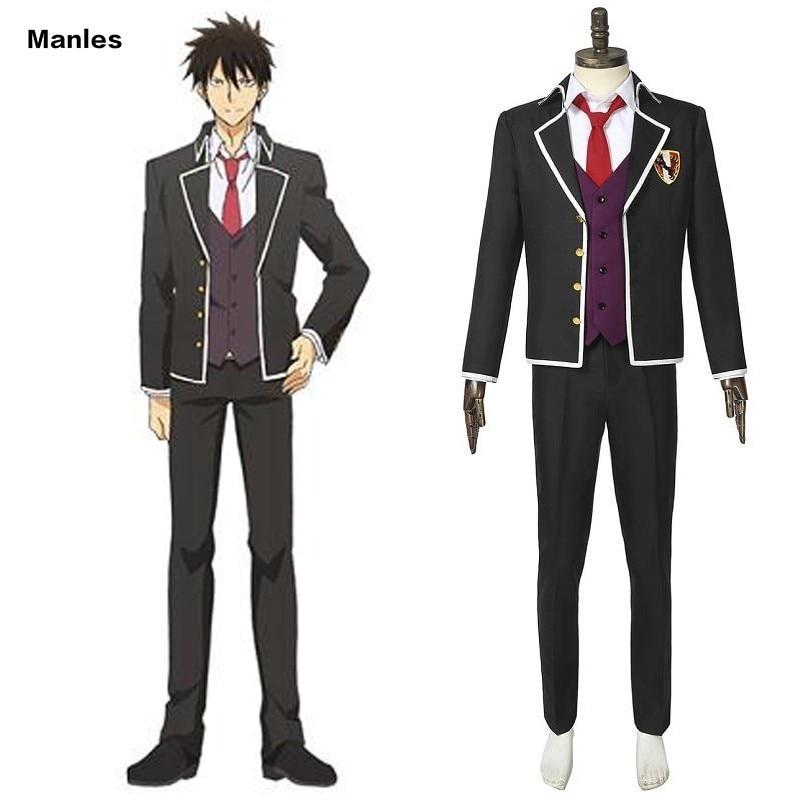 Boarding School Juliet Kishuku Gakko No Jurietto Costume Inuzuka Romio Cosplay Uniform Men Dahlia Academy Boarding School Suit