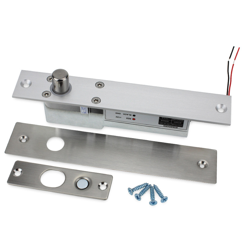 2Lines Electric Low Temperature Lock for Access Control Wood Glass Door   2Lines Electric Low Temperature Lock for Access Control Wood Glass Door