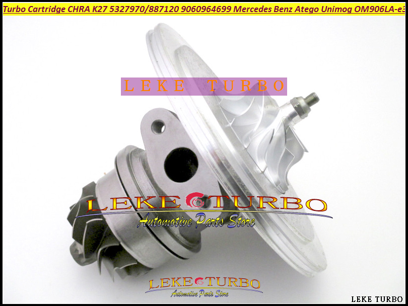 Turbo Cartridge Core CHRA K27 53279707120 5327-970-7120 53279887120 9060964699 A9060964699 For Mercede Benz Atego Unimog OM906LA k16 turbo cartridge mercede bus truck 5316 970 7156 om915 9040968599 turbine wheel 55x46mm compressor wheel 63 4x44 3mm