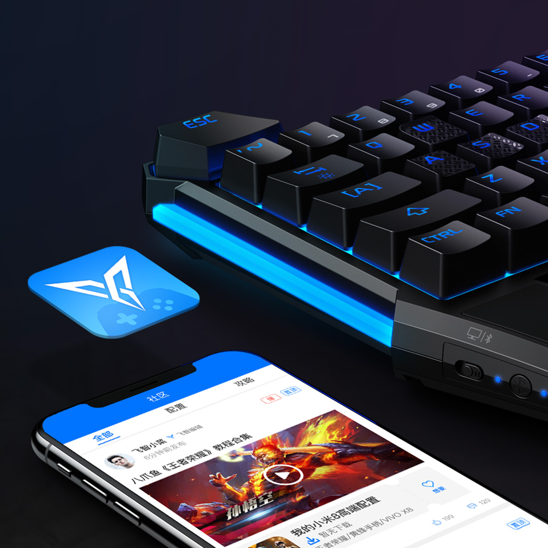 HOT SALE] Flydigi Scorpion for PUBG Mobile Mouse and