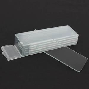 Image 1 - 5Pcs 1mm 두께 캐비티 유리 Coverslips 단일 오목 현미경 유리 슬라이드 재사용 가능한 실험실 빈 샘플 커버 유리