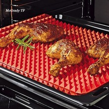 Practical Creative Pyramid Silicone Baking Mat Nonstick Pan