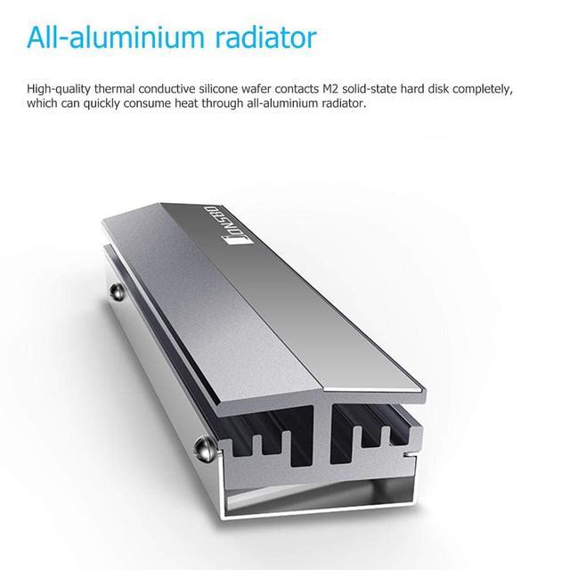 Jonsbo M.2 Ssd Aluminum Heatsink Cooler For M.2 2280 Solid State Hard Disk Radiator 5