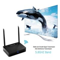HD585 Wireless HDMI Transmitter Receiver Video 5.8 GHz 350m AV Sender Extender Set top Box Sharing with IR Remote Cable TV Stick