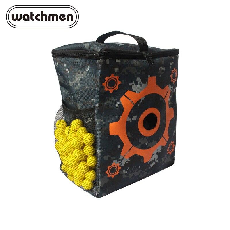 For Nerf Children KidsOxford Cloth Target Pattern Shooting Practice Bag Soft Bullet Bag For Nerf Accessories