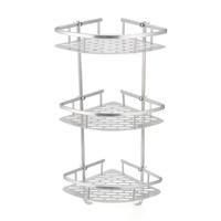 Bathroom Shelf 2/3 Layer Aluminum Triangular Rack Bathroom Accessories Storage Organizer For Shampoo Soap Cosmetic Basket Holder [category]