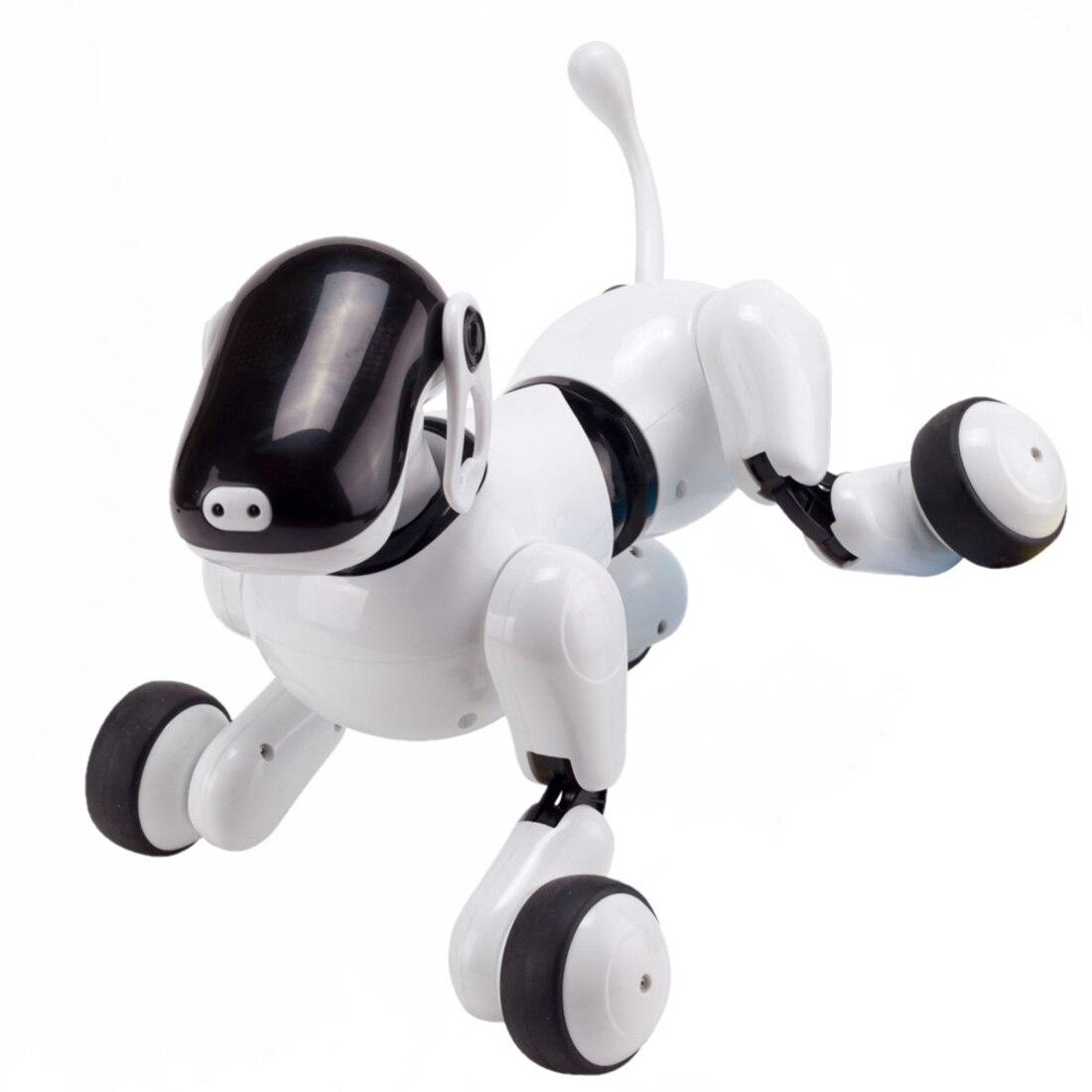 2019 jouet de chien Robot sans fil RC Robot intelligent chien animal de compagnie électronique pour enfants interactif jouer cadeau jouets éducatifs précoces