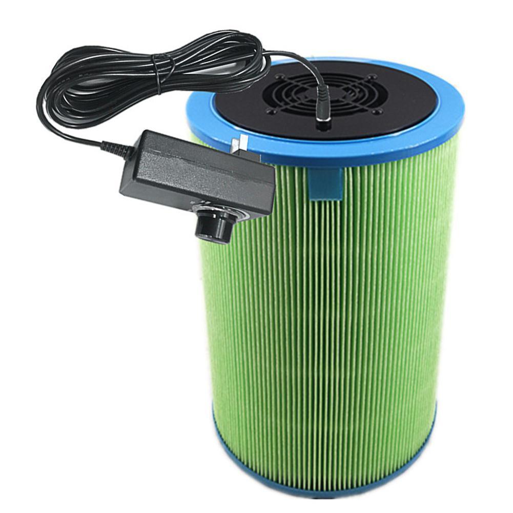 Home Car DIY Air Purifier Homemade Air Cleaner HEPA Filter Remove Smoke Odor Dust Formaldehyde 2019