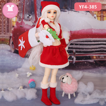 BJD одежда 1/4 Кукла тело MSD девочка хорошее рождественское платье для Luts Bory тело аксессуары для игрушечной куклы