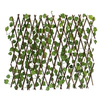 70cm Extension Garden Yard Artificial Ivy Leaf Fence Decorations Artificial Leaf Branch Net Wood for Home Wall Garden Decoration