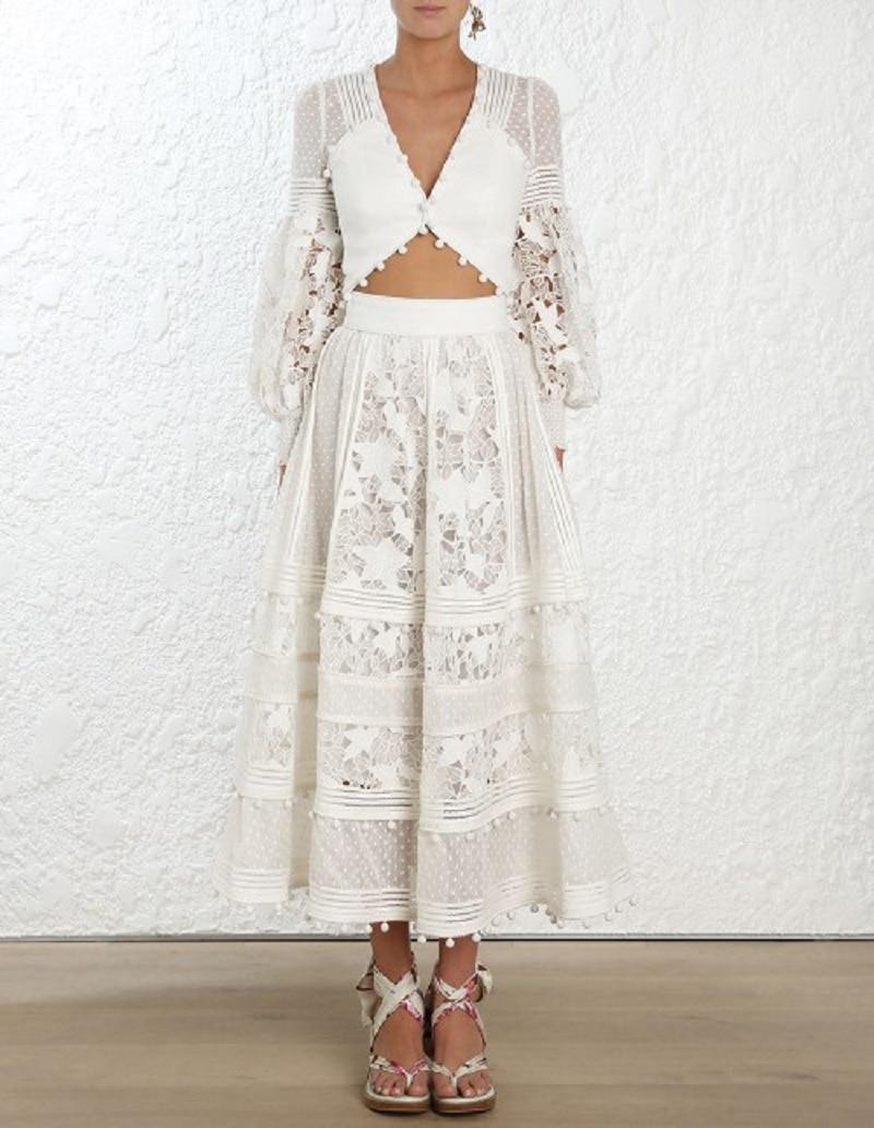 Blanc 2018 Taille V Sexy Vêtements Cou Hiver Dames Designer Robe Boho Partie Robes Femmes Broderie Haute Piste Longue Ywq7Yr