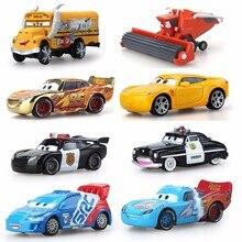 3b097df17 8 estilo Disney Pixar coches 2 y los coches 3 Rayo McQueen Mater Jackson  tormenta Ramírez 1:55 vehículo fundido de aleación de M..