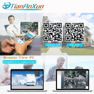 Image 5 - Tiananxun sistema de seguridad CCTV H.265, 48V, NVR poe, 4/8 canales, para cámara POE, IP, DVR, 5MP, 4MP, 1080P, videovigilancia, onvif