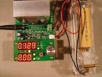 Constant current electronic load 9.99A 110W 1 30V battery capacity tester 12V 24V 5v 9v Multi function Fan control