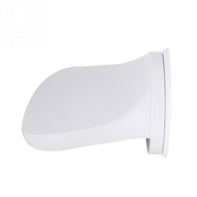 Tazza di Aspirazione in plastica Non-Slip Sticker Sicuro Grip Doccia Resto Del Piede Rasatura Bagno Doccia Piede Passo per la Donna Degli Uomini attrezzature doccia