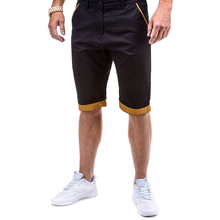 Summer Casual Mens Shorts Slim Knee Length Shorts Joggers Men Short Homme Sweatpants Plus Size plaid knee length casual mens shorts