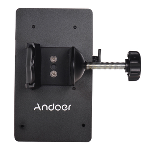 Image 4 - Andoer V Mount V Lock Battery Plate Power Supply Adapter System D tap Connector W/ Clamp for Sony Camera BP Battery