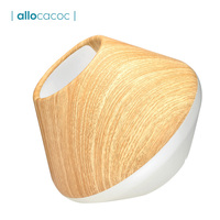 Allocacoc Creative Home Lampshade For Floor Lamp Table Light Wooden Shape Lamp Cover Vintage Art For Living Room Lighting