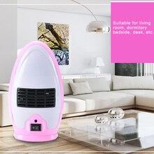 цена на Portable Silent Electric Fan Heater Mini Household Winter Warmer Office Desktop Use WXV Sale