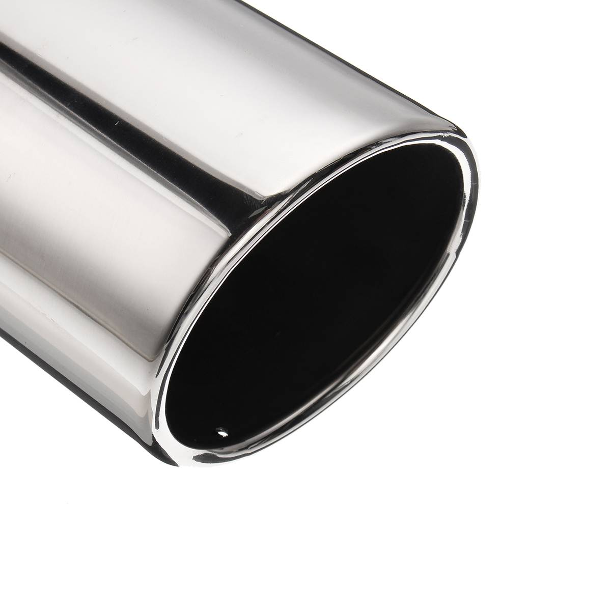 """Exhaust Tip Chrome Stainless 5/"""" Inlet 8/"""" Outlet 15/"""" Length Bolt On Truct Diesel"""