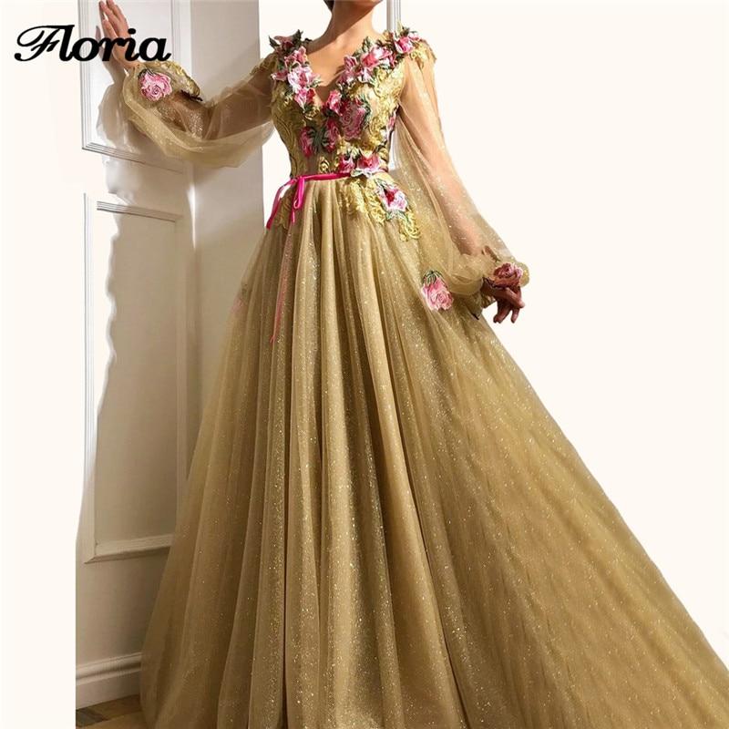 New Shiny Lace Appliques   Evening     Dresses   Robe de soiree Aibye avondjurk Muslim Prom   Dress   Abendkleider Muslim Long Pageant Gowns