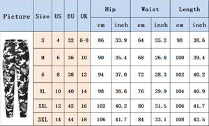 Image 5 - Womens Camo Cargo Trousers Casual Pants Military Army Combat Camouflage Jeans Fashion High Waist Long Pants Warm Spring Trousers