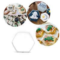 Edelstahl Hexagonal Form Ton Cutter Arcilla Polimerica Maket Klei Modelismo Polymorph Keramik Werkzeuge
