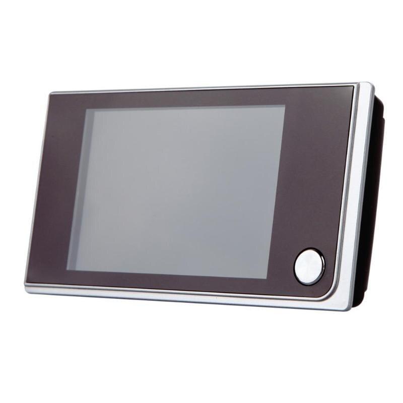 Hot 3.5 inch Digital Door Camera Doorbell LCD Color Screen 120 Degree Peephole Viewer Door Eye Doorbell Outdoor Door Bell