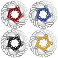 Тормозные роторы для горного велосипеда MTB, быстросохнущий, из нержавеющей стали 140/203 мм, плавающий диск с быстрым охлаждением, тормозной ротор, Аксессуары для велосипеда