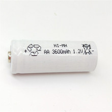 цена на JNKXIXI  4 Pcs AA Battery Rechargeable Batteries 1.2V AA 3600mAh Ni-MH Pre-charged Rechargeable Battery 2A Baterias