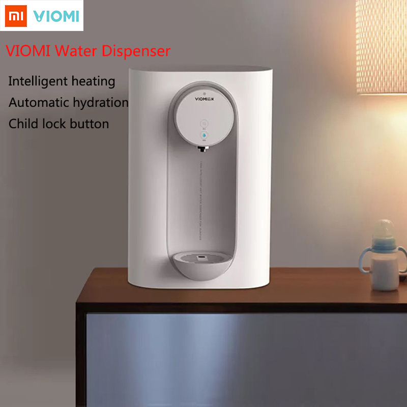 2019 Xiaomi VIOMI Intelligent Pipeline Water Dispenser Two Speed Temperature Smart Hot Water Drinking Machine For Home