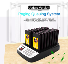 Free shipping!!! YARMEE YPS-216  Wireless Pager Queuing System Call Button Pager Restaurant Equipment 16 Receiver