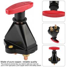 Battery Switch High Power Car Power On/Off Car Battery Isolator Switch for Car Marine Truck Automotive electronic products