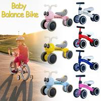 Baby Balance Bikes Bicycle Children Walker 10 36 Months No Pedal Balance Car Infant 4 Wheels Toddler Riding Toys For Kids Baby