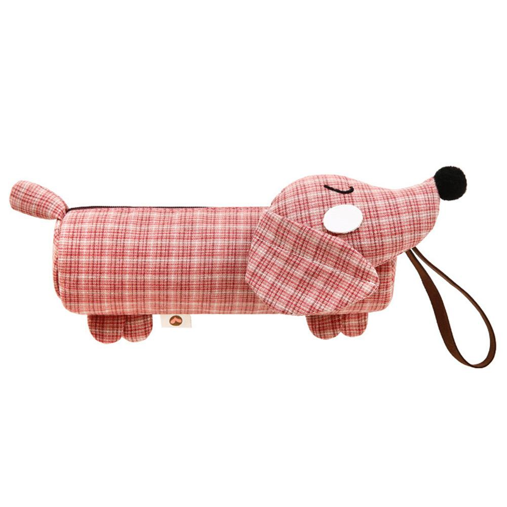 Dog Shaped Pen Bag Creative Simple Pen Bag Large Capacity Korean Style Cute Stationery Bag Environmentally Friendly For StudentsDog Shaped Pen Bag Creative Simple Pen Bag Large Capacity Korean Style Cute Stationery Bag Environmentally Friendly For Students