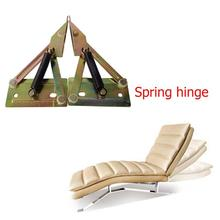2pcs Hinges Multi-functional Iron Spring Folding Sofa Tea Table Hinges Furniture Connecting Hardware Fittings Connection