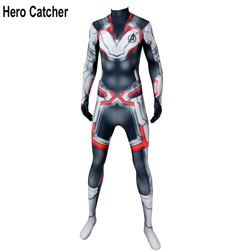Hero Catcher4 Top Quality Quantum Realm Suit Endgame Cosplay Costume Quantum Realm Outfit For Avengers