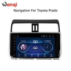 10,1 дюймов полный экран аудиомагнитолы автомобильные радио системы плеер Android 8,1 для Toyota Prado 2018 Развлечения gps навигации