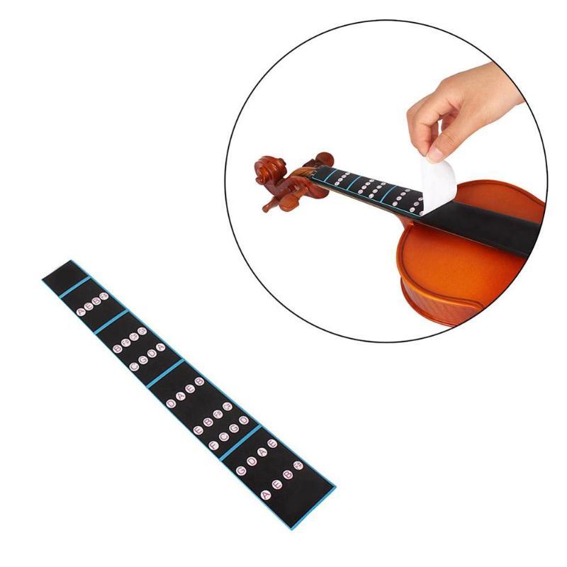 Logical 2pcs Violin Practice Fiddle Finger Guide Sticker Violino Fingerboard Fretboard Indicator Position Marker For 1/2 1/4 3/4 4/4 Musical Instruments