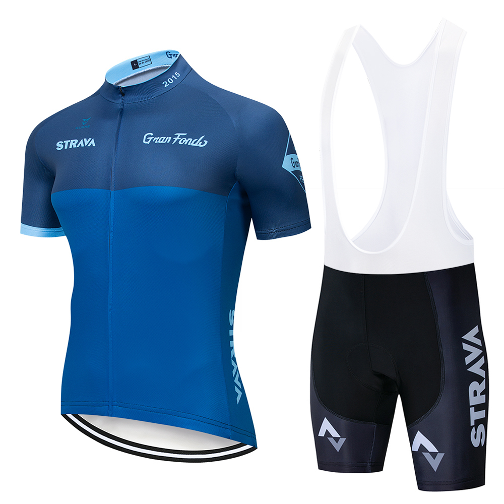 Strava Pro Bicycle Racing Team Short Sleeve Cycling jersey set men outdoor cycling clothing jersey breathable 4D gel paddedStrava Pro Bicycle Racing Team Short Sleeve Cycling jersey set men outdoor cycling clothing jersey breathable 4D gel padded