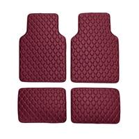 4Pcs/Set Car Waterproof Floor Mats Universal PU leather Auto Floor Mats Car Carpet for BMW 3 5 7 Series F20 E90 F30 E60