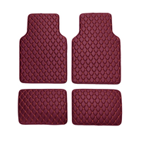 4Pcs/Set Car Waterproof Floor Mats Universal PU leather Auto Floor Mats Car Carpet for BMW 3 5 7 Series F20 E90 F30 E60