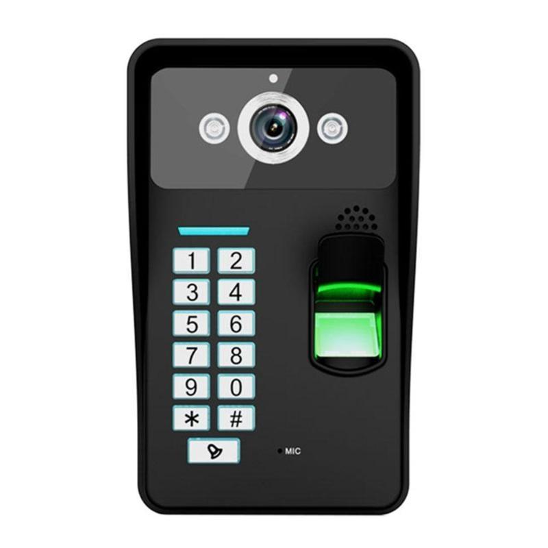 Campanello di casa Senza Fili WiFi Remote Video Macchina Fotografica Del Telefono Visivo Citofono 1280*720 1.0MP Supporto di Identificazione Delle Impronte DigitaliCampanello di casa Senza Fili WiFi Remote Video Macchina Fotografica Del Telefono Visivo Citofono 1280*720 1.0MP Supporto di Identificazione Delle Impronte Digitali